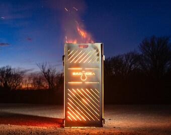 Large Blaze Steel Burn Cage Incinerator