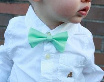 boys clip on bow tie
