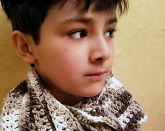 Kids Crochet Scarf