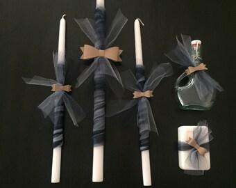 Little Gentleman Bow Tie Orthodox Baptism Set