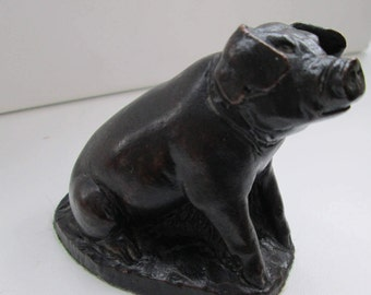 Pig ornament Pottery collectable