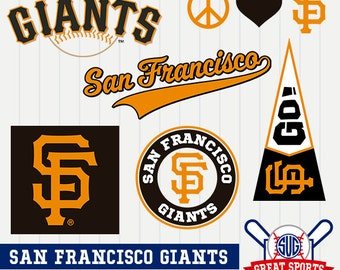 San Francisco Giants SVG, San Francisco Baseball Clipart, San Francisco Giants DXF, Baseball Clipart, Giants Clipart, Clipart SVG, mb-17