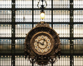 Clock of the Musee De Orsay