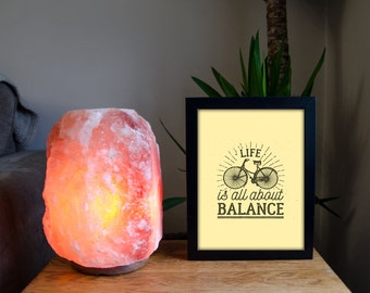 Life Is All About Balance - Bicycle High Quality Print