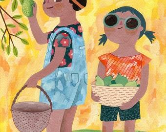 Summertime (print)