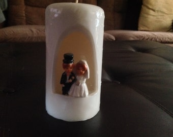 Wedding candle - small