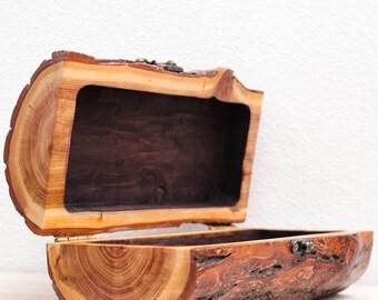 wooden jewellery box lock large treasure box shabby chic box rustic box - Wood Jewelry Box