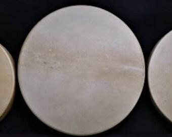 """16-18"""" Native American Deer Drum"""