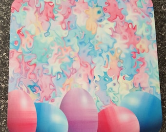 Pastel Easter Eggs Coaster Set of 4