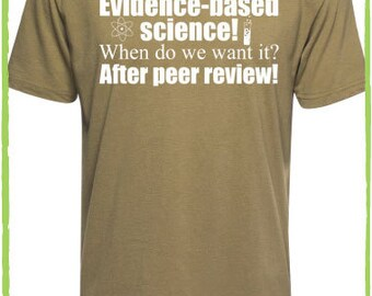 Evidence-Based Science Tee