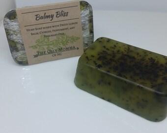 Balmy Bliss Hemp Oil Soap