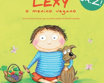 "Book ""Lexy, vegan boy"""