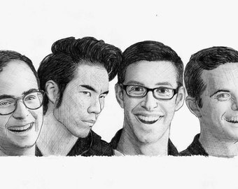 BuzzFeed The Try Guys Realism Drawing