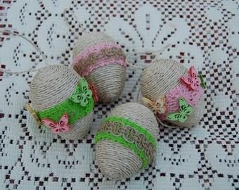 Easter set - Butterfly eggs