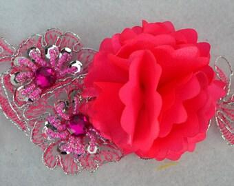 3D Flower Trim