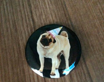 Badge Pug