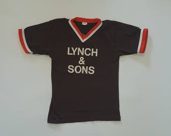 "Vintage Softball Jersey--""Lynch & Sons"""