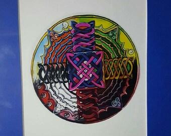 Art, Prints, Mandalas, Drawing, Painting
