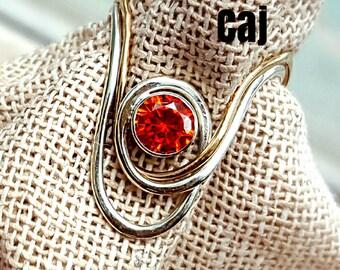 Artisan Bold Mixed-Metal Ring