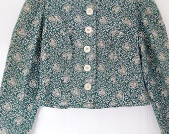 Vintage Eger cropped jacket
