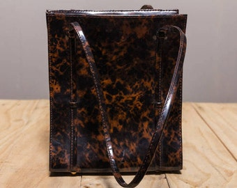 Tortoise Handbag / unique / class / fashionbabe