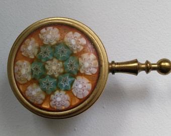 Lovely decor enamel pill box. Enamel pill box. Trinket Box