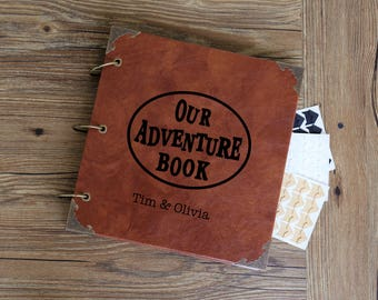 Our Adventure Book/our adventure Photo Album /personalized Wedding Guest Book/weddinng photo album
