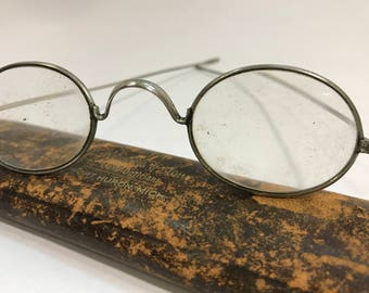 20% OFF | 1920's | Antique Spectacles | with original case