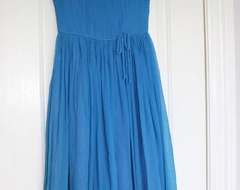 Blanes London Girls Chiffon 1950s Party Dress