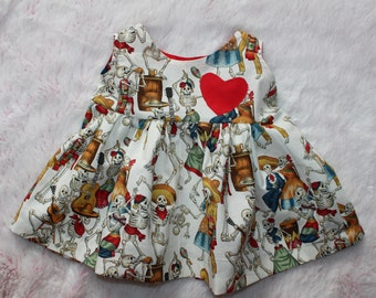 mexican dress, baby dress, calavera dress, dia de los muertos, day of the dead, skull dress, toddler style, baby shower