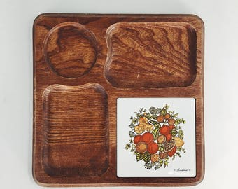 vintage cheeseboard / Goodwood cheeseboard / vintage tray / cheese plate