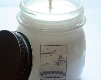 Scented NATURAL SOYA wax CANDLES 240g