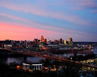 Cincinnati Skyline, Photograph