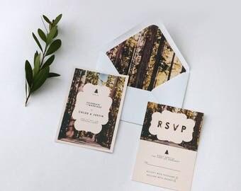 Woodland Wedding Invitation Bundle