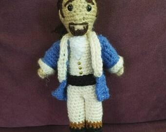 CrAFty Characters: Alexander Hamilton doll // the Musical Collection // Hamilton Dolls