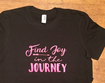 Find Joy In The Journey tshirt