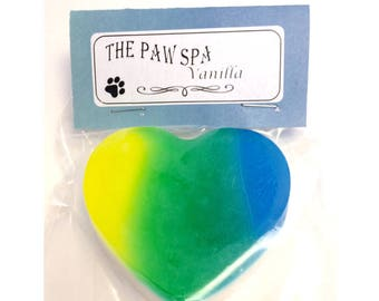 Yellow & Blue Gradient Heart Soap
