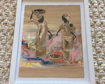 Unique Original Senegal Painting