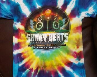 Shaky Beats Festival Tie Dye 2017