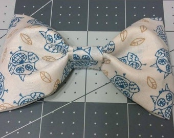 Owls Clip-on bow ties