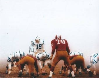 Johnny Unitas Baltimore Colts Louisville Hall of Fame HOF 8x10 photo