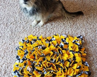 "Custom Made WASHABLE Snuffle Mat 18""X15"""