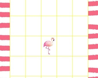 Flamingo Bingo Card