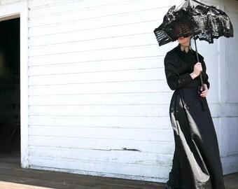Victorian Silk Parasol