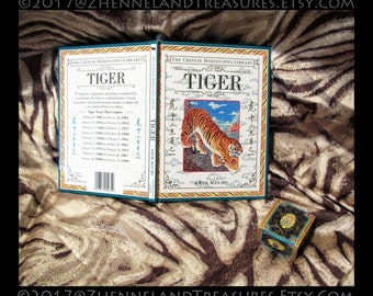 TIGER: The Chinese Horoscopes Library by Kwok Man-Ho ©1994 | Dorling Kindersley, London | Illustrated Chinese Zodiac Animal Reference Book