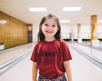 TINY FEMINIST - kids tee