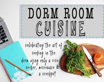 Dorm Room Cookbook eBook
