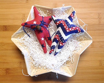 Independence Day Star Ornaments Bowl Fillers Fourth of July Decorations