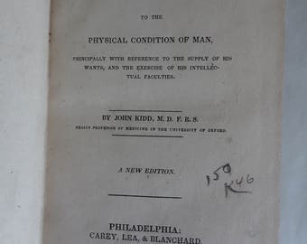 SOUL NATURE 1833 ASTROLOGY Natural Theology Spirituality Physico Religion Power Wisdom Goodness as Manifested in Nature Rare Theology Spirit