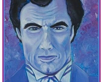 Dalton. Timothy Dalton. James Bond 007 ART PRINT